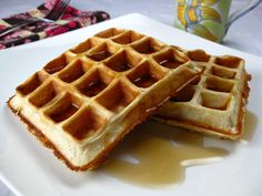 Protein Powder waffles. But a really good recipe with cottage cheese, instant oats, and protein powder.
