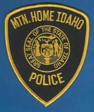 Mountain Home Id Pd Police Patches Patches Patches For Sale