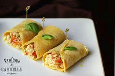 Crepes di ceci con cous cous di verdure - piatto vegano adatto a tutti!  http://www.profumodicannella.ifood.it/2015/06/crepes-di-ceci-con-cous-cous-di-verdure-non-solo-per-vegani.html