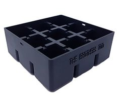 """Premium Quality Ice / Cake Cube Tray makes 9 - 1.57"""" / 4cm edge Big Ice Cubes , Whiskey Ice Cube Maker Mold - 100% BPA Free , FDA Approved , Silicone #Premium #Quality #Cake #Cube #Tray #makes #edge #Cubes #Whiskey #Maker #Mold #Free #Approved #Silicone"""