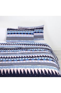 Doona & Duvet Covers Online | Arro Home New West, Quilt Cover Sets, Mid Century House, Signature Design, Beautiful Homes, House Beautiful, Linen Bedding, Classic Style, Color Pop