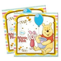 Check out Order Winnie the Pooh Lunch Napkins (20 Count) and other Themed…
