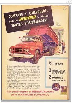 VintageAdvertising: General Motors Argentina - Bedford - agosto de 1961 #vintage…