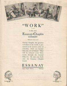 WORK // usa // Charles Chaplin 1915