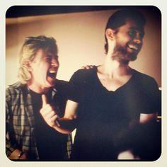 STEVE + JARED http://instagr.am/p/L7Eb4HgPqC/
