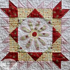 Sew Sweet Simplicity Free BOM- Blocks and Tote Bag Pattern are here!! This is the third block done with embroidery.  #sewsweetsimplicity #BOM #blockofthemonth