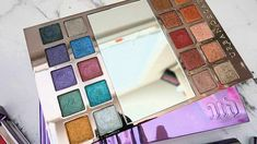 URBAN DECAY Heavy Metals Metallic Eyeshadow Palette - Look, Review