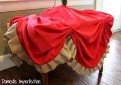 Easy DIY Christmas Tree Skirt