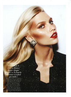 Magazine: Paris Vogue, Dec 2011 Photographer: Gianpaolo Sgura Featuring: Shannan Click Fashion Editor/Stylist: Géraldine Saglio Makeup: Yadim Carranza Hair: James Pecis Get your disco on this New Year's Eve Beauty Fotos, Beauty Make-up, Beauty Shoot, Beauty Hacks, Hair Beauty, 70s Makeup, Love Makeup, Makeup Looks, Hair Makeup