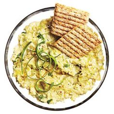 Light, Healthy Dips and Spreads: Low-Cal Hot Artichoke Dip Recipe | CookingLight.com