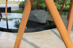 Sacred Grove by Gavin McWilliam and Andrew Wilson. Winner of Gold and Best in Show at the Singapore Garden Festival 2014 Singapore Garden, Sacred Groves, Corten Steel, Outdoor Furniture, Outdoor Decor, Gold, Home Decor, Decoration Home, Room Decor