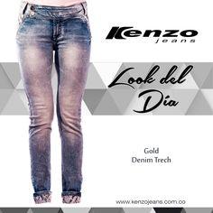 El denim es versátil, duradero y fácil de combinar con cualquier prenda superior, recuerda tener en tu guardarropa siempre esta prenda y crear para cada ocasión un outfit #KenzoJeans  Conoce más en www.kenzojeans.com.co