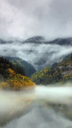 Bulgarian Misty Landscape, beautiful landscape, misty morning,