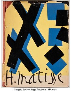Books:First Editions, Alfred H. Barr, Jr. Matisse: His Art and His Public. NewYork: Museum of Modern Art, [1951]. First edition. Octavo. ...