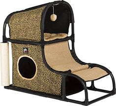 Prevue Pet Products Catville Loft - Leopard Print * You can get more details here : Cat condo