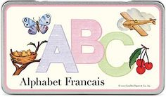 Cavallini French Alphabet Cards