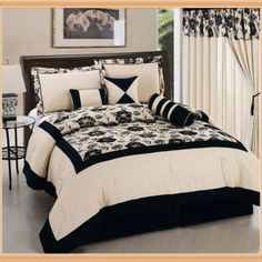 1000 Images About Black Cream Bedroom On Pinterest