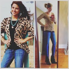 today's #ootd / #pinneditthriftedit / Leopard is a neutral // #stylemethriftednovember theme this week! details Cardigan / Jacket : WR #thrifted $4.99 Black Cami : @mygabes $3.99 Skinny Jeans : #express #thrifted $4.99 Black Booties : #blowfishshoes #tjmaxx Hope y'all have a great #Monday ! I'm off today so I'm headed to a few @goodwillsp locations to do some #thrifting // can't wait to share my #goodwillfinds #wiw #lookforless #styleonabudget #pinspired #keepinitthrifty #goodwillo
