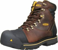 online shopping for KEEN Utility Men's Milwaukee 6 Steel Toe Work Boot from top store. See new offer for KEEN Utility Men's Milwaukee 6 Steel Toe Work Boot Best Steel Toe Boots, Steel Toe Work Boots, Men's Shoes, Shoe Boots, Good Work Boots, Mode Rock, Fashion Shoes, Mens Fashion, Color Fashion