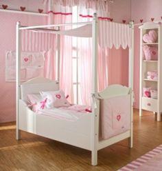 Four Poster Toddler Bed| Designer Toddler Bed| Luxury Lillebro kids Bed