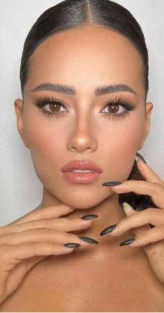 Soft Makeup Looks, Soft Eye Makeup, Soft Bridal Makeup, Neutral Makeup, Wedding Makeup Looks, Nude Makeup, Glam Makeup, Pretty Makeup, Beauty Makeup