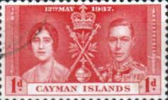 Cayman Islands 1937 Coronation SG 113 Fine Used SG 113 Scott 98 Other Omnibus issue stamps here