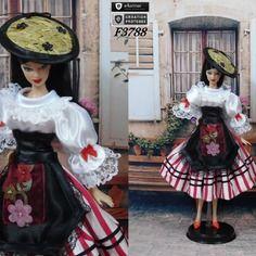"""Robe barbie """" n°21 provence-alpes-côte d'azur """" tenue…"""
