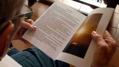 """Présentation de """"Mon livre, ma friandise"""", livre de lecture pour alzheimer"""
