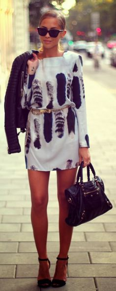 Lovely street fashion style