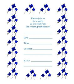 Free printable graduation party announcements diy ideas for free graduation invitation templates for word bbq party invitation templates free filmwisefo Images