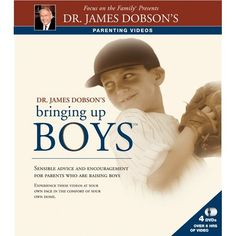 Bringing Up Boys (DVD #2): James C. Dobson:  Sensible advice and encouragement for parents who are raising boys