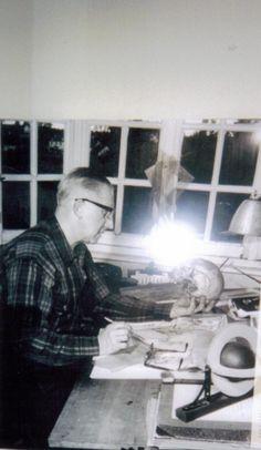 Edgar P. Jacobs creator of Blake and Mortimer