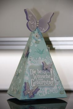 Stampin`UP! Petal Cone Die