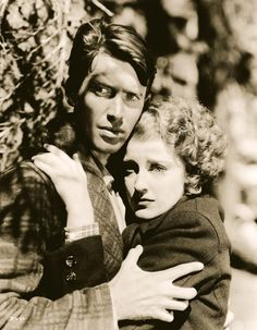 James Stewart and Jeanette MacDonald