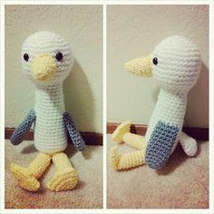 Kristen's Crochet: Stork / Seagull Amigurumi Pattern