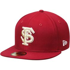 Florida State Seminoles New Era Basic 59FIFTY Fitted Hat - Garnet - $27.99