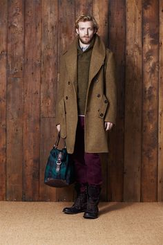 coat, sweater, and pants. {by Ben Sherman}
