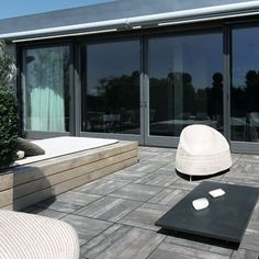 Find out all of the information about the CASA DOLCE CASA product: indoor tile / outdoor / garden / for floors ICON OUTDOOR. Outdoor Porcelain Tile, Outdoor Tiles, Outdoor Spaces, Indoor Outdoor, Outdoor Decking, Porcelain Tiles, Grey Exterior, Exterior Design, Wood Effect Floor Tiles