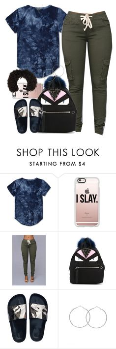 """Untitled #958"" by cjasmyne ❤ liked on Polyvore featuring Haus of JR, Casetify and Fendi"