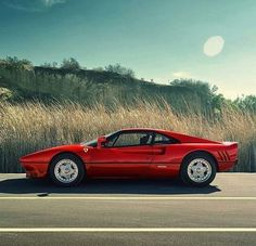 Earlier this year, I was given the distinct honor of spending two days with the final Ferrari 288 GTO ever made;the car that was personally requested by Enzo Ferrari to be built for Formula 1 racing legend Niki Lauda, sixmonths after the original run of… Ferrari 288 Gto, Ferrari 2017, Classic Sports Cars, Classic Cars, Lamborghini, Automobile, Auto Retro, Fast Cars, Car Pictures