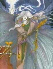 The Magician - Mystic World Tarot - Randy McVey - deck in progress