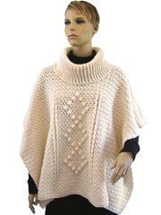 Chic Cowled Poncho Crochet Pattern - Electronic Download