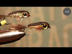"""Tying """"Alevin Baitfish Minnow"""" Fly Pattern (Lures/Streamers) by B&K - YouTube"""