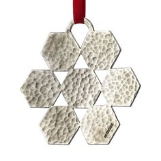 f76f69cbe Snowflake by Hamish Dobbie #Christmas #ChristmasDecorations #Xmas  #XmasDecorations #Silver #ChristmasTree