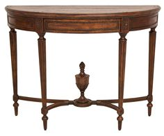 Check out the Console Table on Elte.com