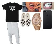 """""""Random"""" by maggsxix on Polyvore featuring Rolex, OneTeaspoon and Vans"""