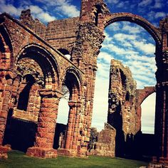"""See 51 photos and 1 tip from 365 visitors to Lindisfarne Priory. """"First Viking raid on england happened here. Northern England, North East England, Lake District, Cathedrals, Barcelona Cathedral, Places Ive Been, Islands, Spiritual, Scenery"""