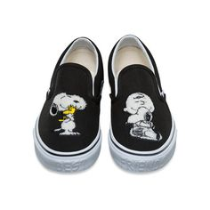 e66c8eca7e Vans X Peanuts Slip-On Shoes ( 73) ❤ liked on Polyvore featuring shoes