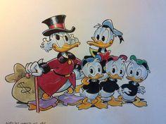 "Donald Duck - ""La famiglia di Paperopoli"" - (2020/2020) - Catawiki Illustrations And Posters, Donald Duck, Disney Characters, Fictional Characters, Illustrations Posters, Fantasy Characters"