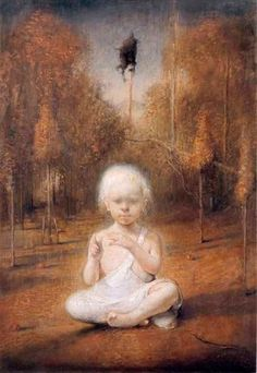 Odd Nerdrum Self Portrait as a Baby